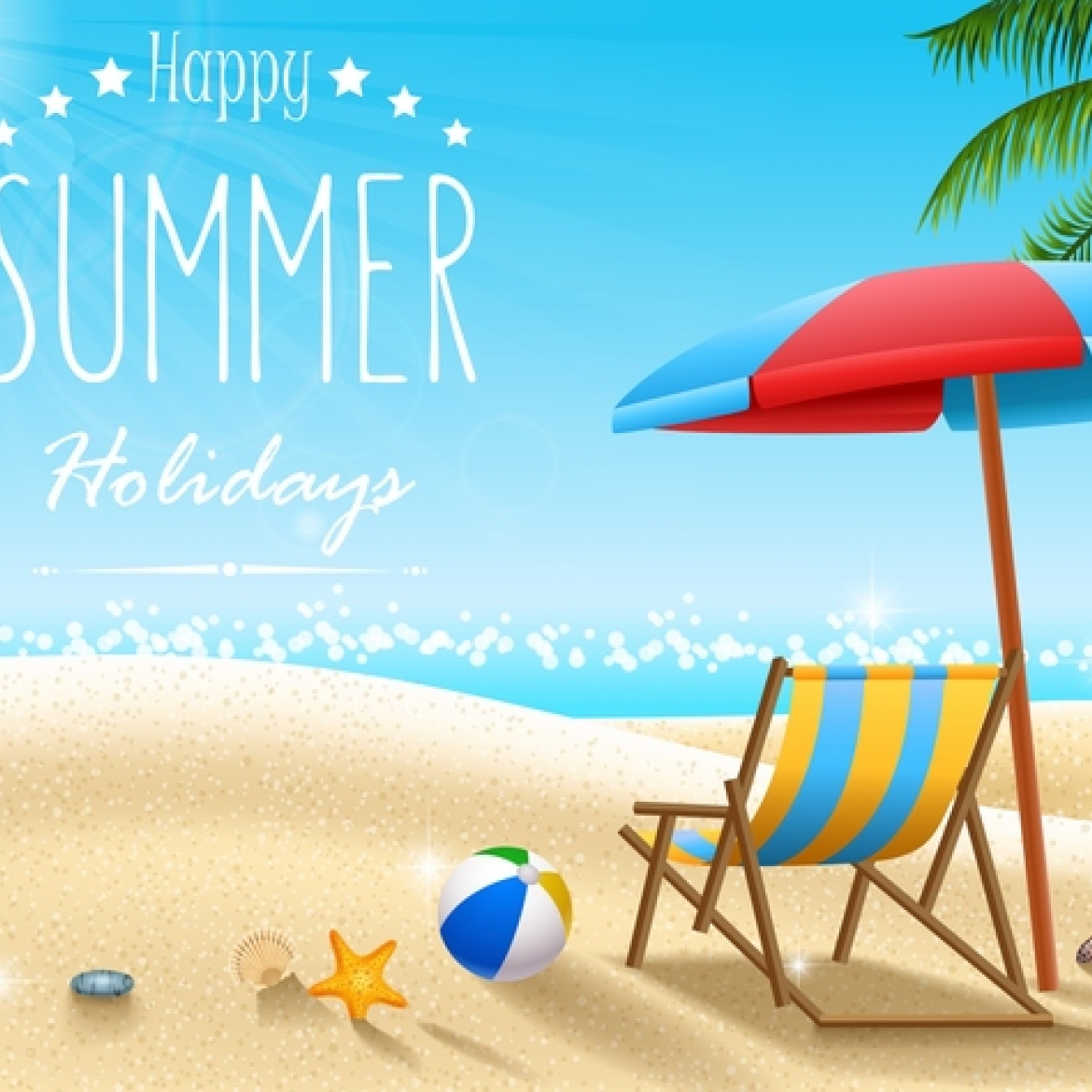 Summer holiday travel background design vectors