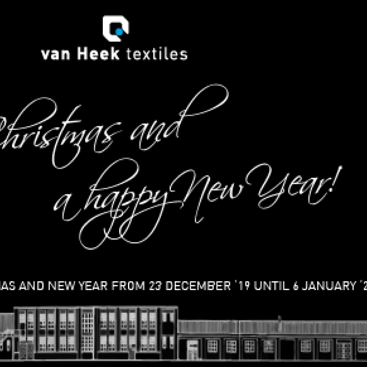 seasons greetings van heek textiles